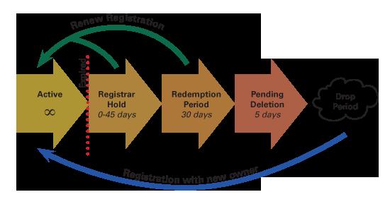 domain drop cycle