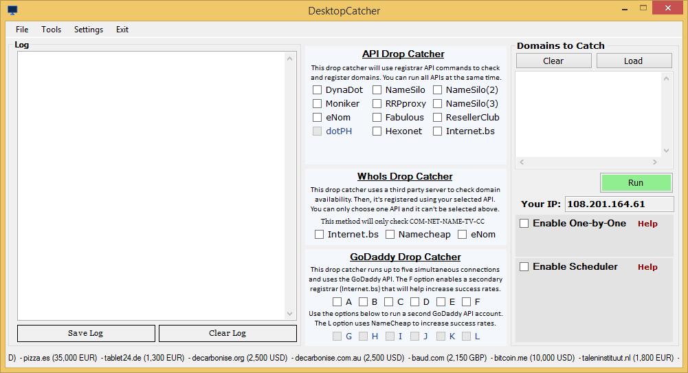 DesktopCatcher Screenshot